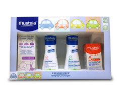 Image of product Mustela - Baby Essentials Travel Set, 4 units
