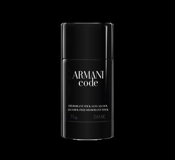 Armani Black Code Deodorant Stick, 75 g