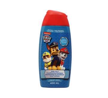 Paw Patrol Kids 2 in 1 Conditioning Shampoo, 400 ml