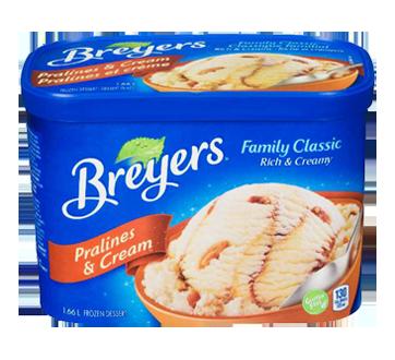 Ice Cream, 1.66 L, Pralines & Cream