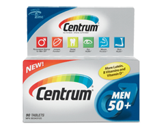 Image of product Centrum - Centrum for Men 50+, 90 tablets