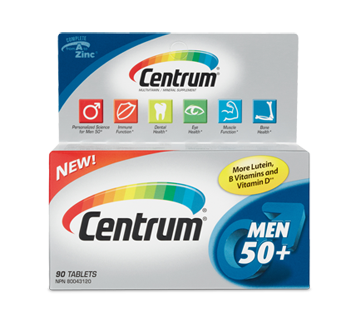 Image of product Centrum - Supplement for Men 50+, 90 units