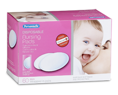 Image of product Personnelle - Disposable Nursing Pads, 60 pads