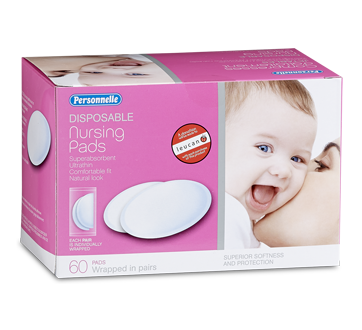 Image of product Personnelle - Disposable Nursing Pads, 60 units