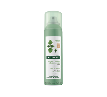 Tinted Dry Shampoo with Nettle, 150 ml, Brown to Dark Hair