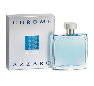 Azzaro Chrome After Shave Lotion, 100 ml