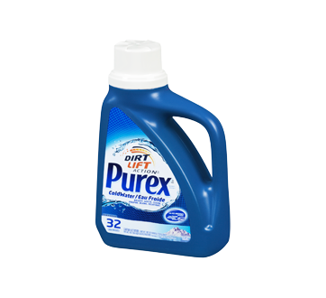 Image 3 of product Purex - Dirt Lift Action Cold Water Laundry Detergent, 1.47 L