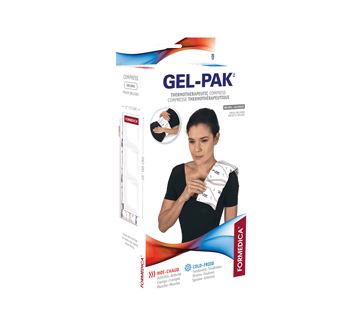 Image of product Formedica - Re-usable Hot And Cold Compress with Pouch Gel-Pak, 1 unit, 13 cm x 50 cm