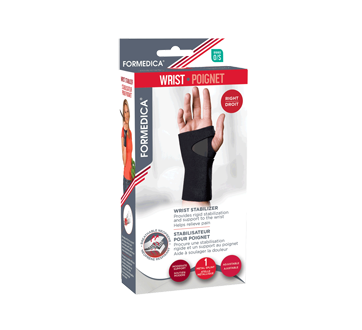 Image of product Formedica - Wrist Stabilizer, 1 unit, Right, One Size, Black