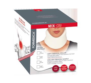 Cervical Collar Soft, 1 unit, Length: Universal, Width: 10 cm, White
