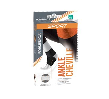 Elastic Ankle Bandage, 1 unit, One Size, Beige