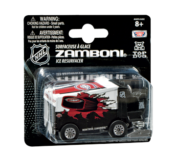 Montreal Canadiens Die Cast Zamboni 1 Unit Nhl Kids And Adults