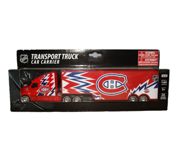 Transport Truck Car Carrier, Montreal Canadiens, 1 unit