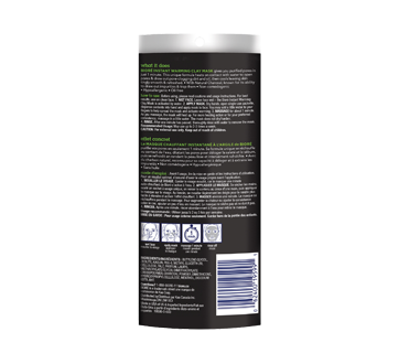 Image 2 of product Bioré - Self Heating One Minute Mask with Natural Charcoal, 4 x 7 g