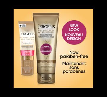 Image 3 of product Jergens - Natural Glow + Nourish Daily Moisturizer Medium to Deep, 220 ml