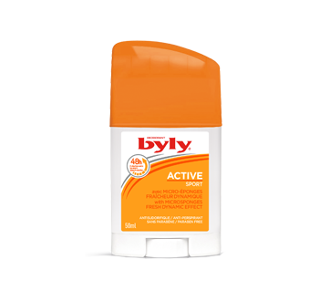 Image of product Byly - Active Sport Anti-Perspirant with Microsponges