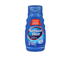 Image of product Selsun Blue - Anti-Dandruff Shampoo for Itchy Dry Scalp, 300 ml