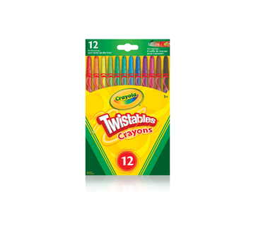 Twistables Crayons, 12 units