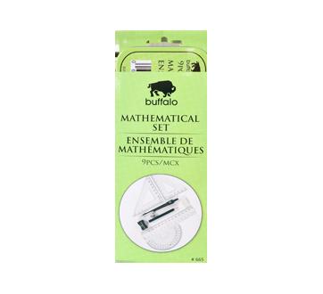 9 Pcs Math Set, 1 unit