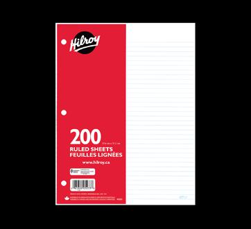Ruled Paper, 200 units