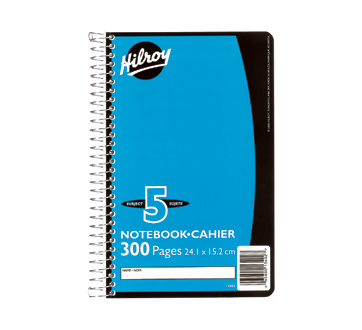 Notebook 5 Subjects, 1 unit