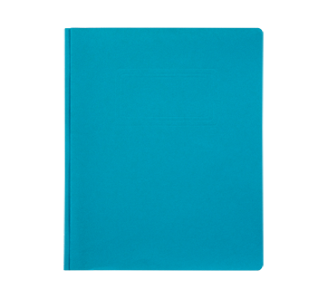 Report Cover with Three Prongs, 1 unit, Light Blue