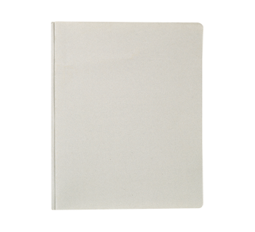 Report Cover with Three Prongs, 1 unit, Gray