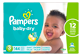 Thumbnail of product Pampers - Baby-Dry Diapers, 144 units, Size 3