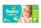 Thumbnail of product Pampers - Baby Dry Diapers, 96 units, Size 6, Giant Pack