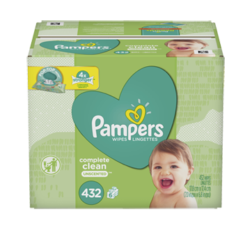 Complete Clean Baby Wipes, 432 units, Unscented