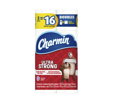 Ultra Strong Toilet Paper, 8 units