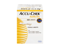 Image of product Accu-Chek - Softclix Sterile Lancets, 100 units