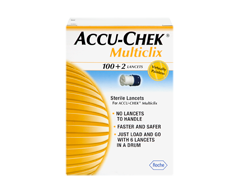 Image of product Accu-Chek - Multiclix Sterile Lancets, 100 + 2 units