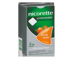 Image of product Nicorette - Nicorette Gum, 105 units, 2 mg, Fresh Fruit