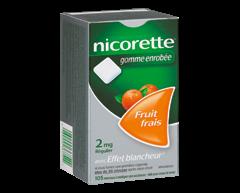 Image of product Nicorette - Nicorette Gum Fresh Fruit, 2 mg, 105 units
