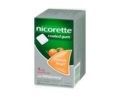 Image of product Nicorette - Nicorette Gum Fresh Fruit, 4 mg, 105 units