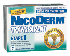 Image of product Nicoderm - Nicoderm Clear Step 1 Patches 21 mg, 7 units