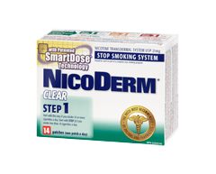 Image of product Nicoderm - Nicoderm Clear Step 1 Patches 21 mg, 14 units