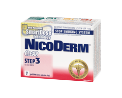 Image of product Nicoderm - Nicoderm Clear Step 3 Patches 7 mg, 7 units