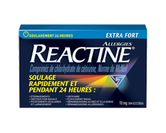Image of product Reactine - Reactine Extra Strength Tablets, 10 units