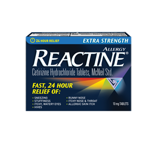 Extra Strength Reactine Tablets, 48 units