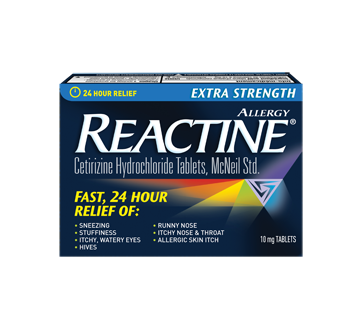 Image of product Reactine - Extra Strength Reactine Tablets, 48 units