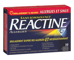 Image of product Reactine - Reactine Complete Sinus + Allergy Extended Release Tablets, 10 units