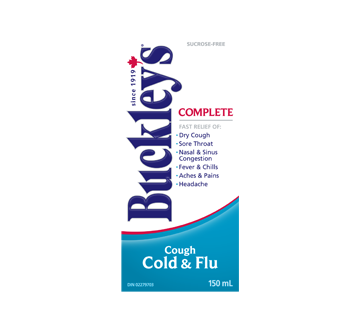 Image of product Buckley - Complete Cough Syrup, 150 ml