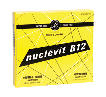 Image of product Laboratoires Anglo-French - Nuclevit, 15 units
