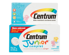 Image of product Centrum - Centrum Junior Complete, 60 units