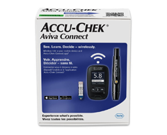 Image of product Accu-Chek - Aviva Connect Blood Glucose Meter, 1 unit