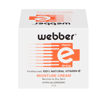 Image of product Webber - Vitamin E Normal to Dry Skin Hypo-Allergenic, 120 ml
