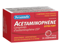 Image of product Personnelle - Acetaminophen 500 mg, 24 tablets