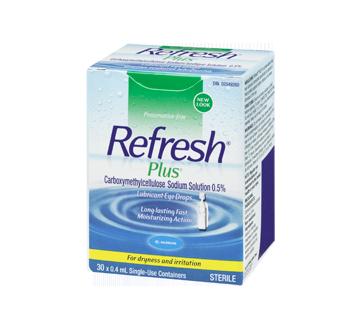 Image 1 of product Allergan - Refresh Plus Lubricant Eye Drops, 30 x 0.4 ml